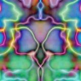 Tuile symétrique psychédélique Wal Photo stock