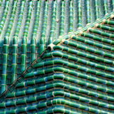 Tuile vitreuse verte Photographie stock
