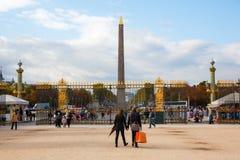Tuileries庭院的入口在巴黎,法国 免版税图库摄影