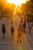 巴黎Tuileries庭院 免版税库存照片