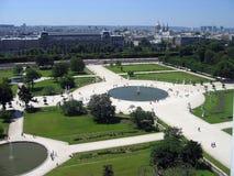tuileries de jardin de DES Photos libres de droits
