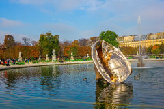 The Tuileries Garden of the Louvre Museum Royalty Free Stock Image