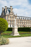Tuileries. Garden Tuileries on Louvre, Paris, France Royalty Free Stock Photography