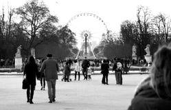 Tuileries garden - Paris Royalty Free Stock Image