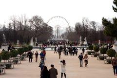 Tuileries garden - Paris Stock Photography