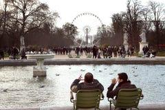 Tuileries garden - Paris Stock Photos