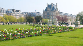 Tuileries Garden in Paris Royalty Free Stock Photography