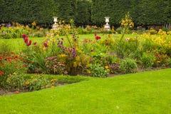Tuileries garden Royalty Free Stock Photo