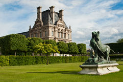 Tuileries garden in Paris Royalty Free Stock Photo