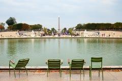 Tuileries garden in Paris, France. Royalty Free Stock Photo