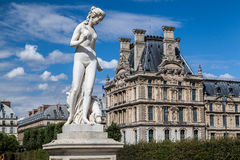 Tuileries Garden Paris France Stock Image