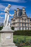 Tuileries Garden Paris France Stock Images