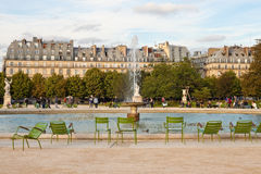 Tuileries Garden in Paris Stock Images
