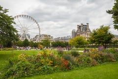 Tuileries garden Royalty Free Stock Photos