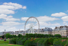 Tuileries garden, Paris Royalty Free Stock Photos