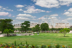 Tuileries garden, Paris Stock Image