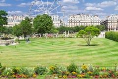 Tuileries garden, Paris Stock Images
