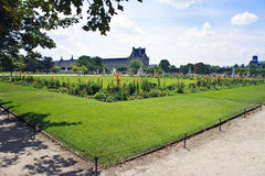 Tuileries Garden in Paris Stock Photos