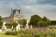 Tuileries garden Royalty Free Stock Images
