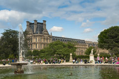 Tuileries garden Stock Photos