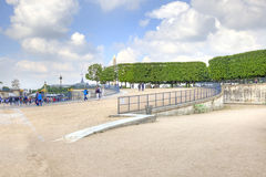 In the Tuileries Gardens Royalty Free Stock Photo