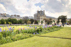 In the Tuileries Gardens Stock Images