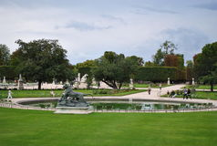 Tuileries Gardens Royalty Free Stock Photography