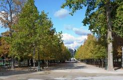 Tuileries Gardens Paris France Royalty Free Stock Image