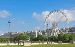 Tuileries gardens, Paris Royalty Free Stock Images