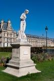 Tuileries Gardens statue. Paris, France Royalty Free Stock Photos