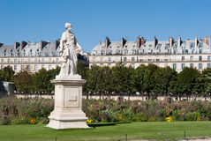 Tuileries Gardens statue Royalty Free Stock Images