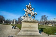Tuileries ogródy, Paryż Fotografia Stock