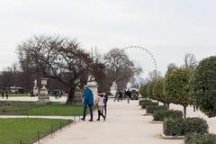 Tuileries park Zdjęcia Royalty Free
