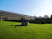 Tuileries parkerar Arkivfoto