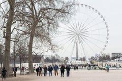 Tuileries parkerar Arkivfoton