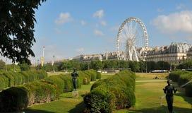 Tuileries trädgårdar, Paris Royaltyfri Foto