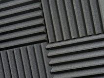 Tuiles acoustiques de studio d'enregistrement Photo libre de droits