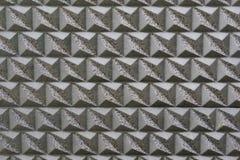 Tuiles argentées de modèle Photo stock
