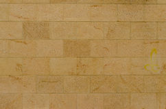 Tuiles, beige de marbre rustique Images libres de droits