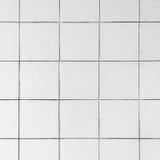 Tuiles blanches Photo libre de droits