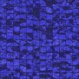 Tuiles bleu-foncé sans joint illustration libre de droits