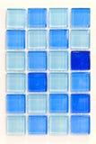 Tuiles bleues Photo libre de droits