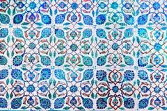 Tuiles bleues Photographie stock libre de droits