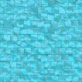 Tuiles bleues de nacre illustration stock