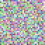 Tuiles carrées sans joint de couleur multi colorée Image libre de droits