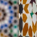 Tuiles colorées image stock
