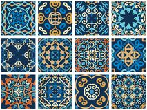 Tuiles décoratives arabes Photos libres de droits