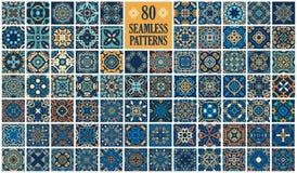 Tuiles décoratives arabes illustration libre de droits