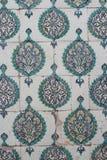 Tuiles dans le harem du palais de Topkapi Photo stock