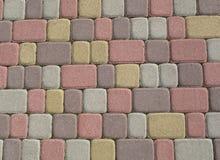 Tuiles de couleur Photographie stock libre de droits